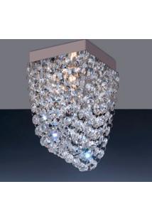 Luminária De Sobrepor 4,5W G9 Espelhado Pen1Lzsqg9 Bronzearte