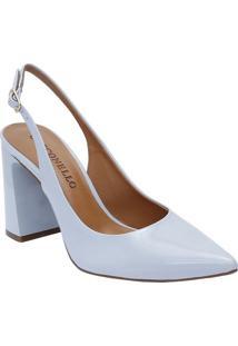 Sapato Chanel - Azul Claro - Salto: 9,5Cmcecconello