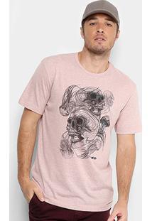 Camiseta Mcd Jellyfish Masculina - Masculino-Rosa Claro