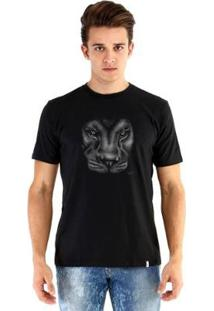 Camiseta Ouroboros Leão Masculina - Masculino