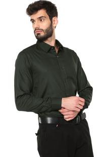 Camisa Sergio K Reta Padronagem Verde