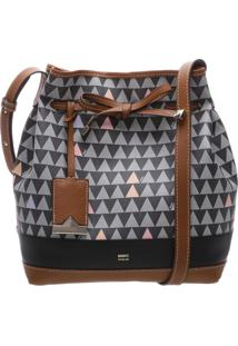 Bucket Bag Emili Triangle Black | Schutz
