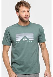 Camiseta Quiksilver Básica Golden Hour Masculina - Masculino
