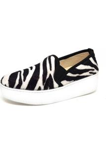 Slip Toretto Animal Print Zebra - Kanui