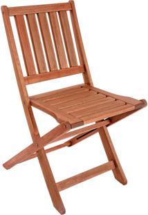 Cadeira Dobrável Oreon Entalharte Sem Braços Ref. 80.2