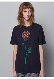 Camiseta Unissex Em Malha De Algodão Com Estampa Frente E Costas Hering + À La Garçonne