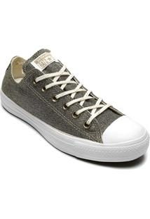 Tênis Converse All Star Chuck Taylor Ox Ouro Claro Ct12800002 - Kanui