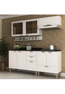 Cozinha Completa 6 Peã§As Americana Multimã³Veis 5916 Branco - Branco/Incolor - Dafiti