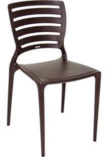 Cadeira Sofia Marrom