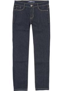 Calça Jeans Masculina Skinny Com Bolsos
