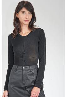 Blusa Calvin Klein Jeans Preta