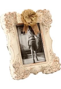 Porta-Retrato De Madeira Decorativo Souvenir