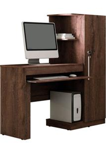 Mesa Para Computador Office 1 Gv Castanho