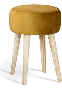 Puff Coin Caramelo Pes Palito Pinus - 49885 - Sun House