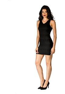 d3e5b34ff Vestido Jacquard Slim feminino