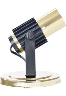 Spot Para 1 Lâmpada Aleta 190/1 Dourado 808428