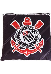 Jogo De Cama Corinthians C/2 Peças Solteiro - Unissex