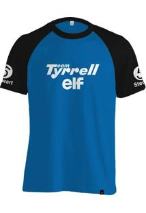 Camiseta Fórmula Retrô Tyrrell 1971 Jackie Stewart - Masculino