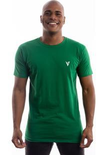 Camiseta Manga Curta Valks Fontaine Verde