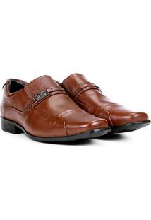 Sapato Social Couro Mariner Masculino - Masculino-Marrom
