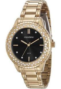 Relógio Mondaine 99258Lpmvde2 Feminino - Feminino-Dourado