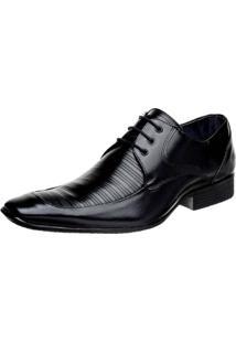 Sapato Social Bigioni Couro Preto