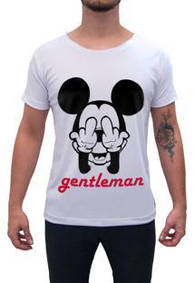 Camiseta Estampada Impermanence Mickey Branca