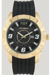 Relógio Analógico Technos Masculino - 2115Kza8P Dourado - Único