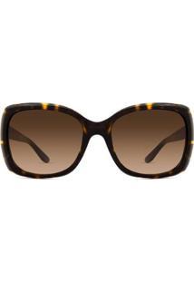 Óculos De Sol Ralph Lauren Rl Feminino - Feminino-Marrom