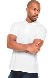 Camisa Polo Malwee Comfort Branca