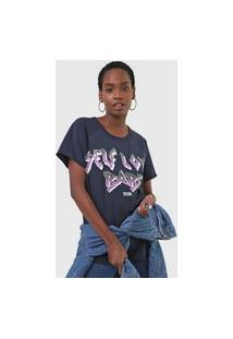 Camiseta Triton Self Love Azul-Marinho