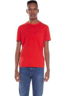 Camiseta Levis Sunset Pocket Laranja - Masculino-Laranja