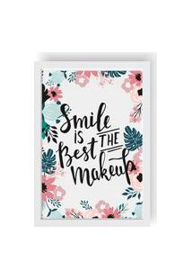 Quadro Love Decor Decorativo Smile Is Best