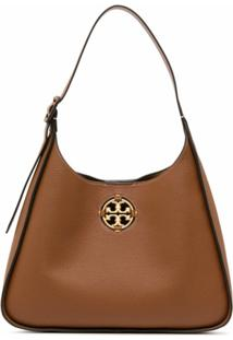 Tory Burch Medium Miller Shoulder Bag - Marrom