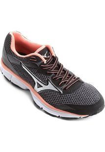 3a43469e92 Netshoes. Calçado Tênis Running Feminino Mizuno Amor Corrida - Wing N