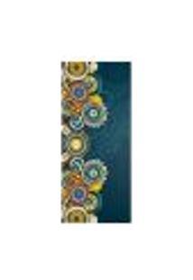 Adesivo Decorativo De Porta - Mandalas - 2394Cnpt