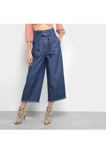 Calça Jeans Lez A Lez Feminina - Feminino-Azul