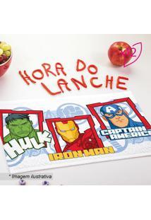 Jogo De Toalhas De Lancheira Avengers®- Branco Vermelhlepper