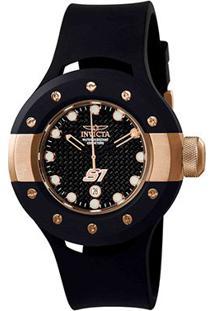 Relógio Invicta Round S1-1944 - Masculino-Preto