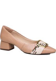 Sapato Scarpin Zariff Salto Grosso