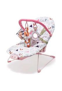 Cadeira Weego De Descanso Para Bebês 0-15 Kg Rosa - 4027 - Branco
