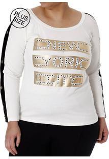 cc6e0cb5a Plus Size Off White Plus Size feminino | Starving
