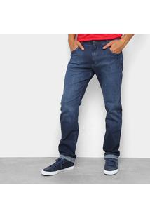 Calça Jeans Reta Wrangler Elastano Cody Masculina - Masculino