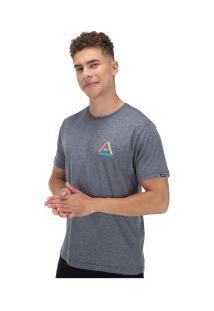 Camiseta O'Neill Keen - Masculina - Cinza Escuro