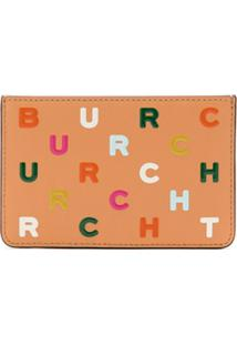 Tory Burch Carteira Letter Slim Card Estampada - Neutro