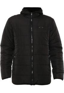 Jaqueta Oakley Down Jacket Masculina - Masculino-Preto