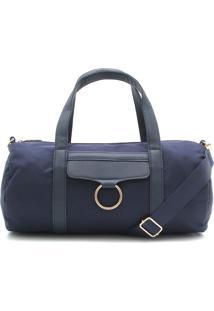 Bolsa Fiveblu Argola Azul-Marinho