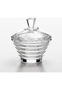 Bomboniere Layers De Cristal 12,5X14 Cm - Unissex