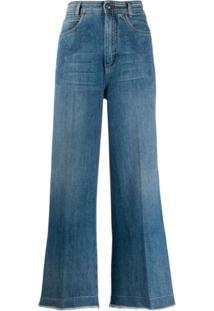 Etro Calça Jeans Pantalona - Azul