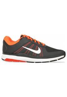 Tenis Nike Running Dart 12 Preto Laranja